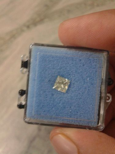 Princess Cut Moissanite Diamond 02