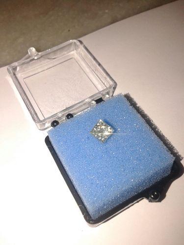 Princess Cut Moissanite Diamond 03