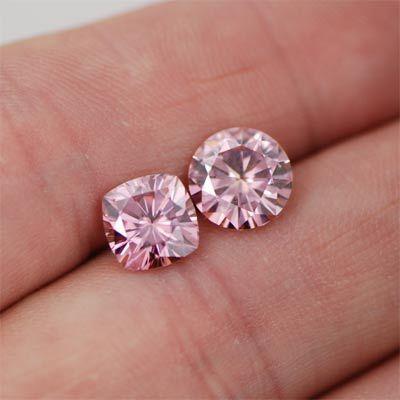 Pink Moissanite Diamond 01