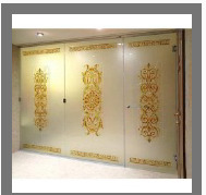 Colored Glass Designing Services 02