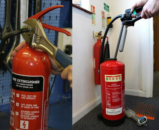 Fire Extinguisher Maintenance Services