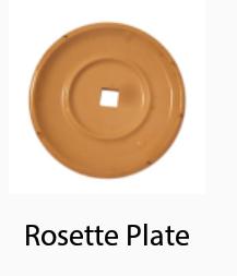 Rosette Fire Sprinkler Plate