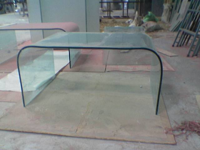 Bent Glass Table 06