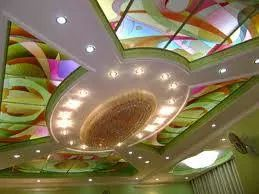 Designer Ceiling Glass 04
