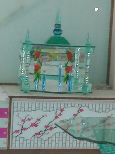 Designer Glass Temples