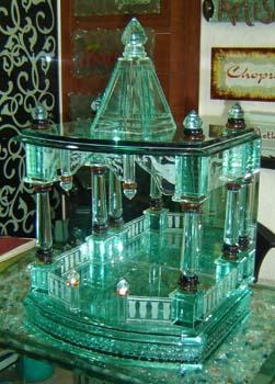 Designer Glass Temple 04
