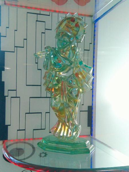 God Figure Designer Glass 03