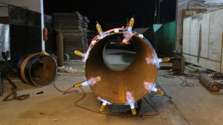 External Heating Torch 03