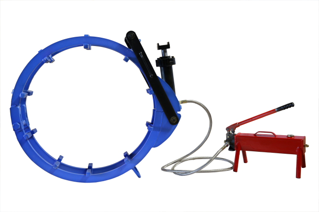 Hydraulic External Line Up Clamp No Tack 01