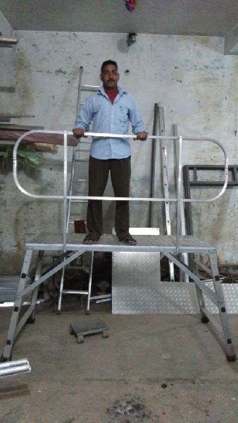 Aluminium Platform Ladder 02