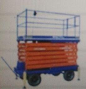 Aluminium Scissor Lift Trolley 01