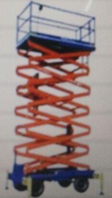 Aluminium Scissor Lift Trolley 02