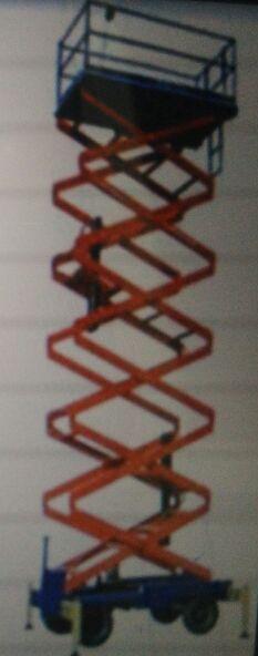 Aluminium Scissor Lift Trolley 03