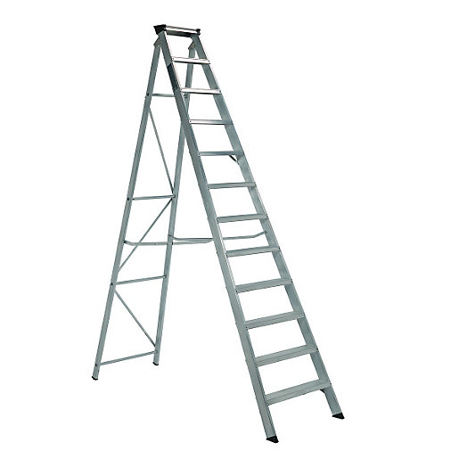 Aluminium Wild Step Single Ladder