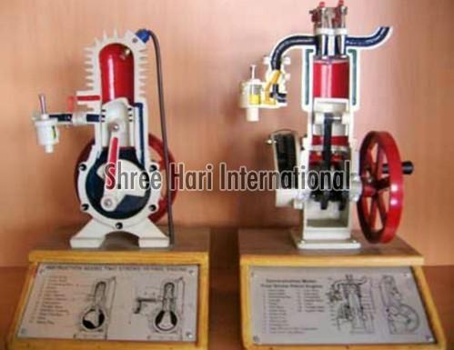 Modle 4 Stroke Petrol Engine