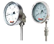 Bi-Metal Angle Type Thermometer
