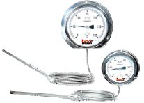 Gas Actuated Capillary Type Thermometer