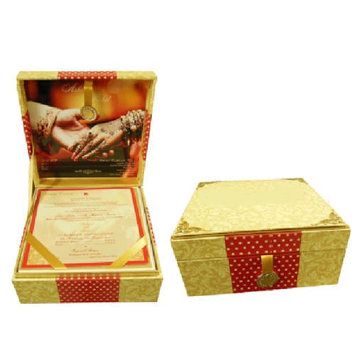 Customized Wedding Invitation Box