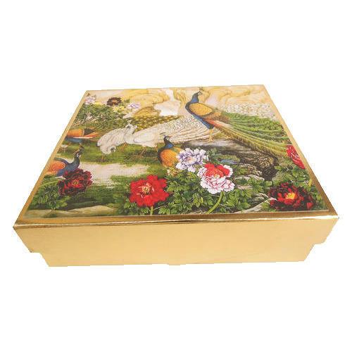 Scenic Printed Wedding Invitation Box