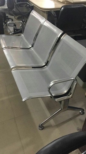 Stainless Steel Link Chair