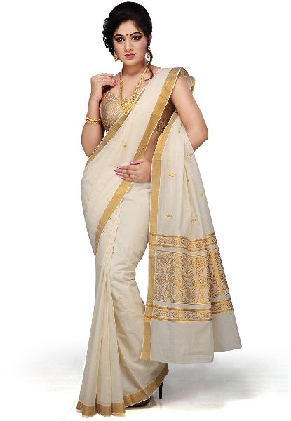 Ladies Cotton Saree 01