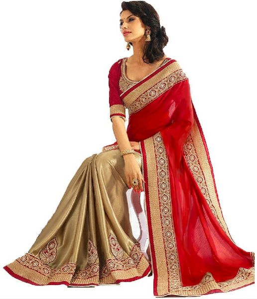 Ladies Georgette Saree 01