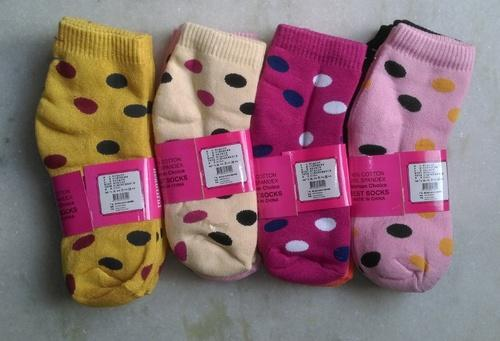 Ladies Terry Ankle Socks 02