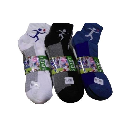 Mens Terry Ankle Socks