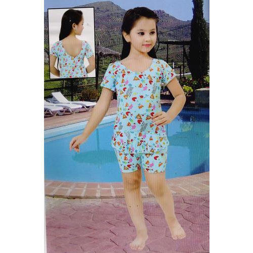 Girls Knee Length Swimming Suits Manufacturer Supplier In Mumbai India