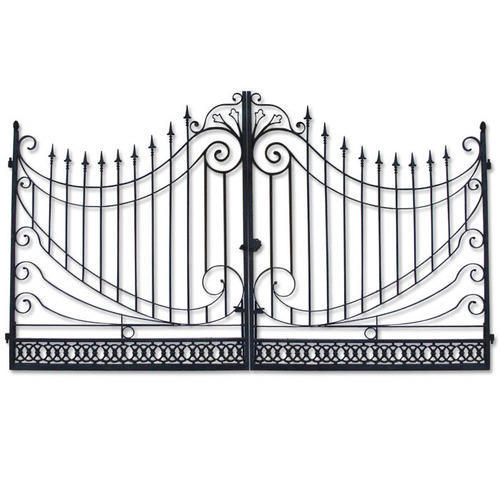 Metal Gate Grill