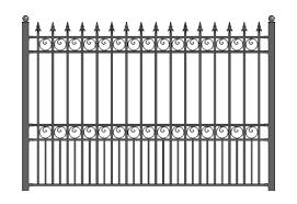 Steel Fence 01
