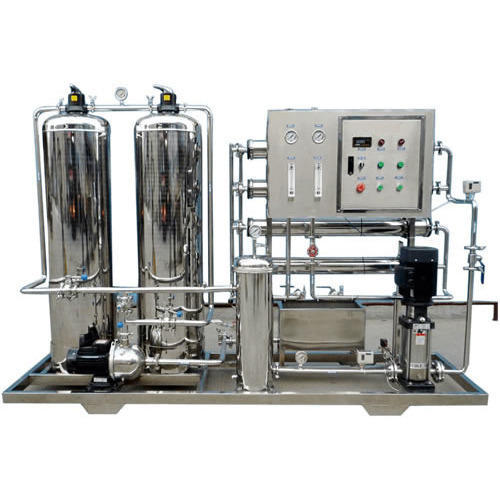 Stainless Steel 2000 LPH RO Plant