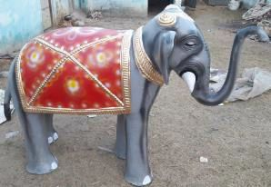 Elephant Statue 03