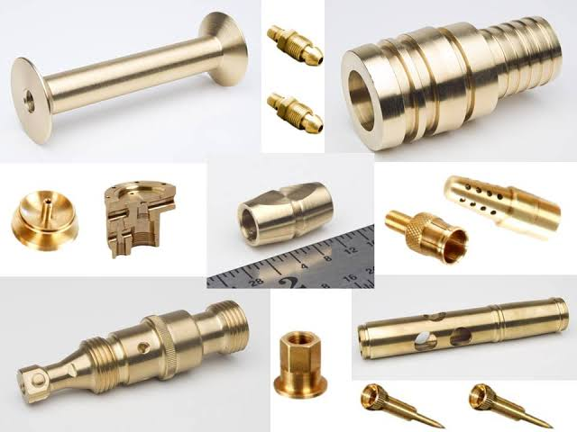 Brass precision component 01
