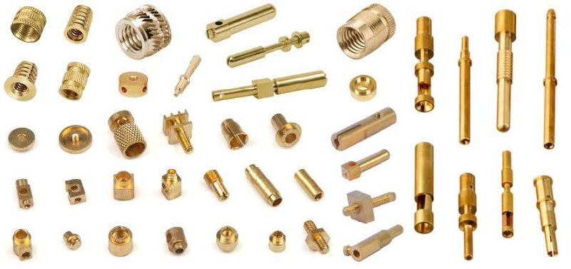 Brass precision component 02