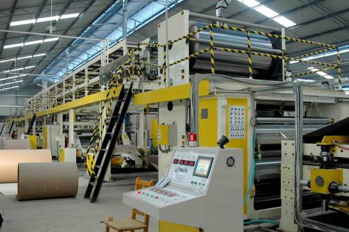 3 Ply Automatic Paper Corrugation Plant