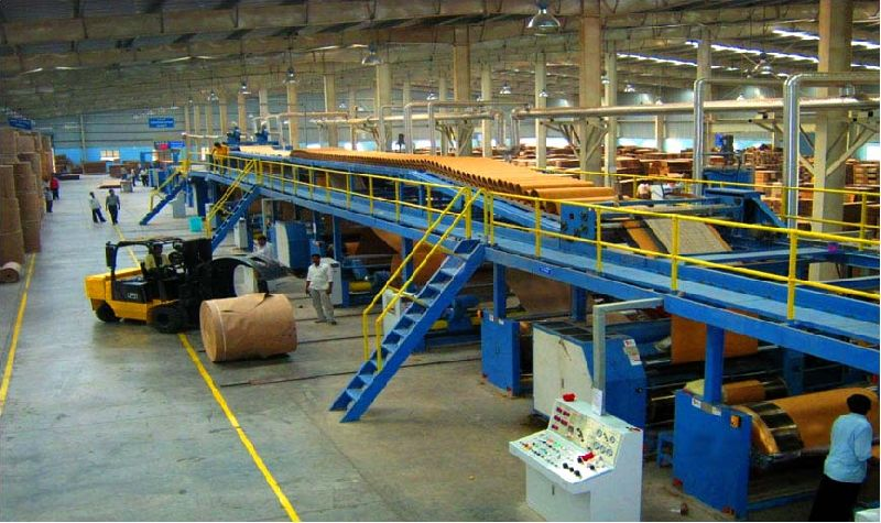 5 Ply Automatic Paper Corrugation Plant