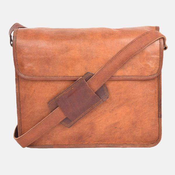 "11"" Small Leather Handmade Shoulder Bag"
