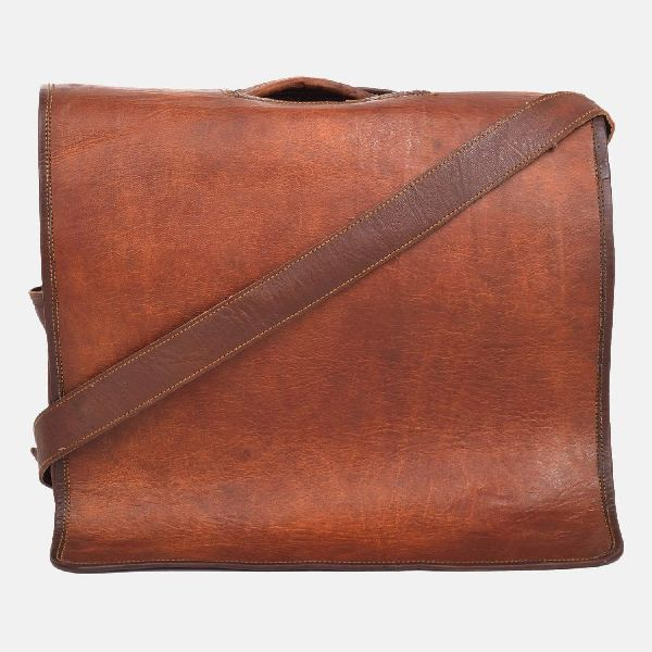 "Leather Laptop Bag 14"""