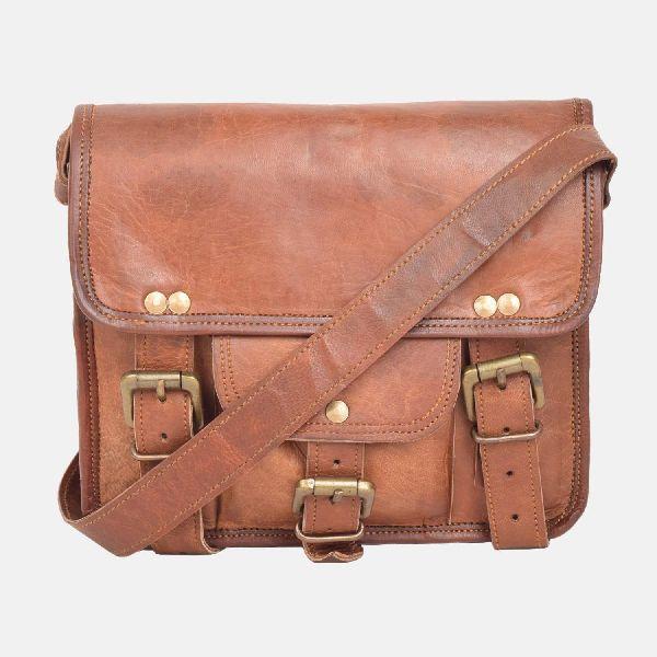 "9"" Small Leather Shoulder Bag"