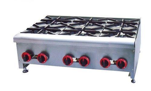 Portable 6 Burner Cooking Range