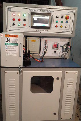 Automatic Alternator Testing Bench