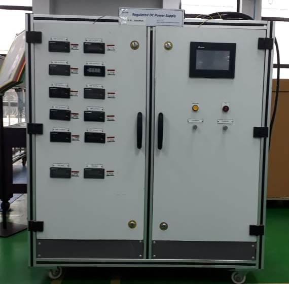 DC Regulated Power Supply Panel