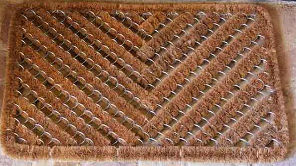 Coir Wire Brush Mat