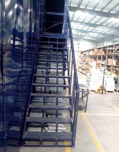 Mezzanine Floor with Stairs