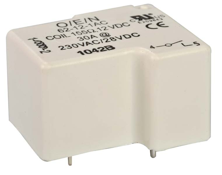 Heavy Duty Power Relay (Series 62)