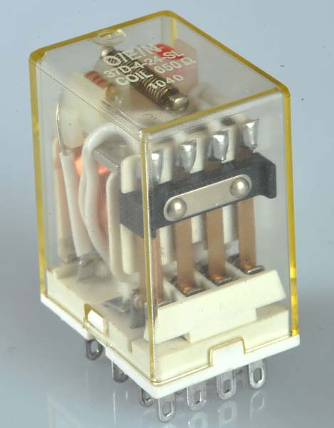 ICE Cube Style Industrial Relay (Series 37)