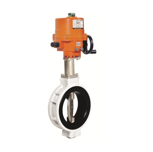 Electric Actuator Operated Aluminium Body Butterfly Valves