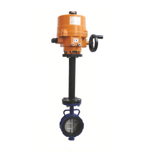 Electric Actuator Operated Extended Stem Butterfly Valves