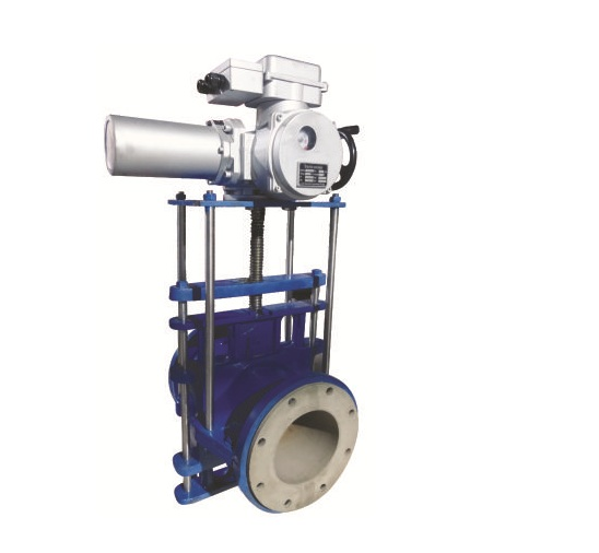 Electric Actuator Operated Pinch Valves